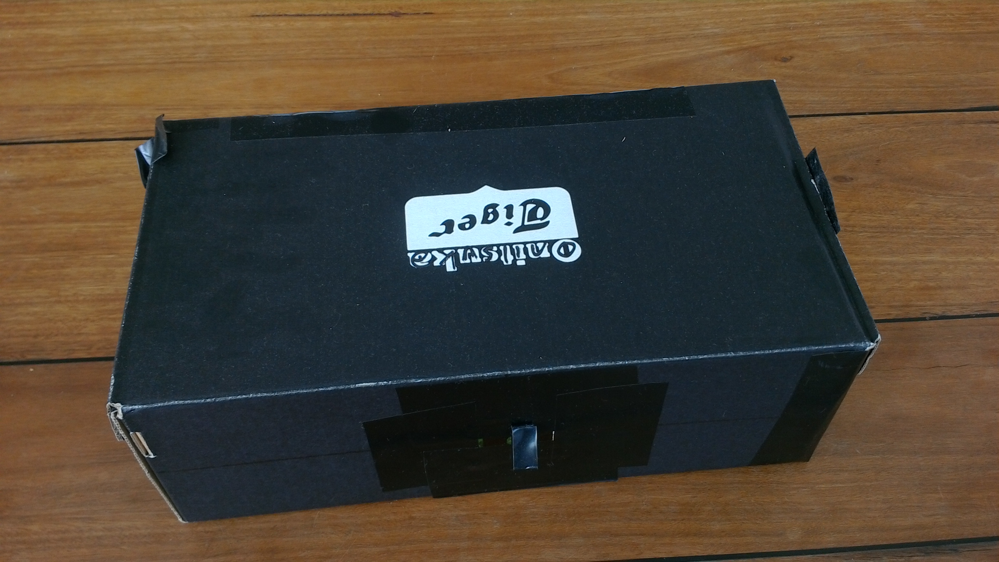 The Shoebox Pinhole Camera